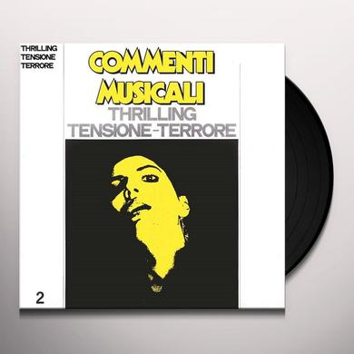 COMMENTI MUSICALI: THRILLING 2 / VARIOUS (RMST) COMMENTI MUSICALI: THRILLING 2 / VARIOUS Vinyl Record