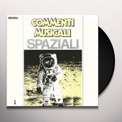 ALFALUNA (RMST) COMMENTI MUSICALI: SPAZIALI 1 Vinyl Record