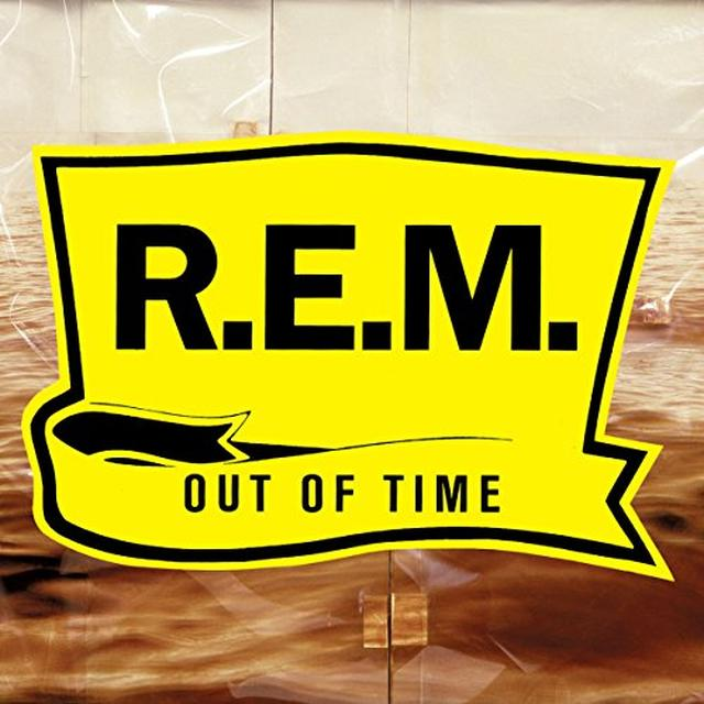 R.E.M OUT OF TIME (25TH ANNIVERSARY EDITION) Vinyl Record - Gatefold Sleeve