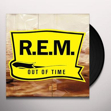 R.E.M. OUT OF TIME Vinyl Record - 180 Gram Pressing, MP3 Download Included