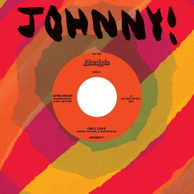 Johnny ONLY LOVE / ONLY LOVE INSTRUMENTAL Vinyl Record
