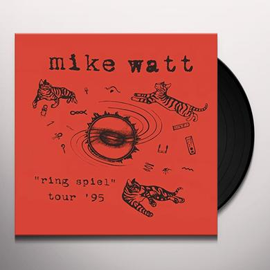 Mike Watt RING SPIEL TOUR 95 Vinyl Record