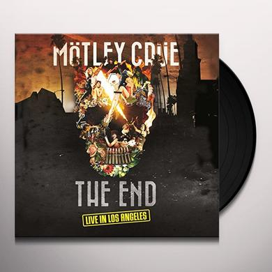 Motley Crue END: LIVE IN LOS ANGELES Vinyl Record