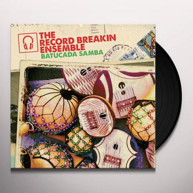 RECORD BREAKIN ENSEMBLE BATUCADA SAMBA Vinyl Record