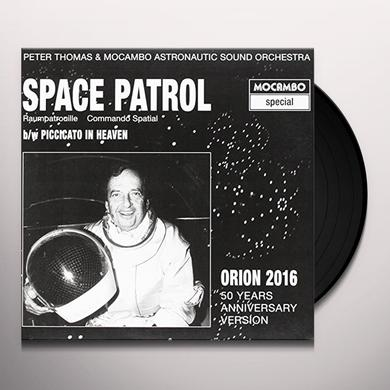 Peter Thomas / Mocambo Astronautic Sound Orchestra SPACE PATROL: ORION 2016 / O.S.T. Vinyl Record