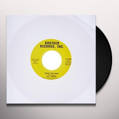 CITY NEWS BUSTIN UP Vinyl Record