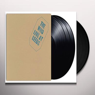 Who LIVE AT LEEDS (HALF-SPEED MASTER) Vinyl Record - UK Import