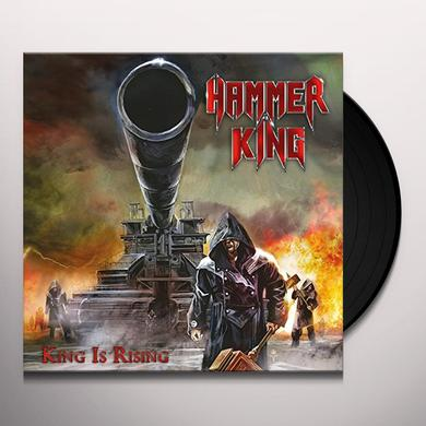HAMMER KING KING IS RISING Vinyl Record - UK Import