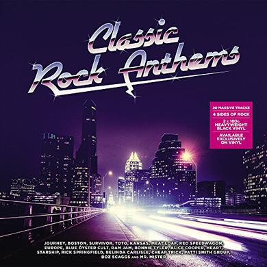 CLASSIC ROCK ANTHEMS / VARIOUS Vinyl Record