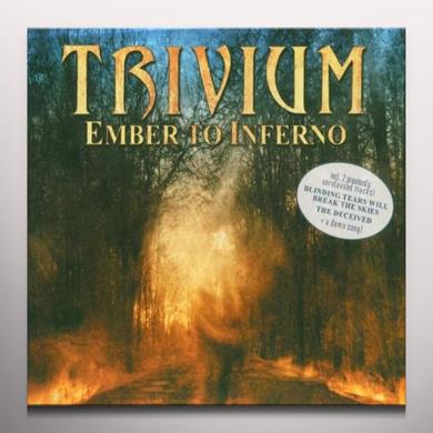 Trivium EMBER TO INFERNO Vinyl Record - Colored Vinyl, Gatefold Sleeve