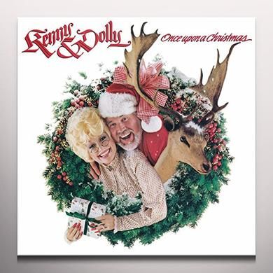 Kenny Rogers / Dolly Parton ONCE UPON A CHRISTMAS Vinyl Record