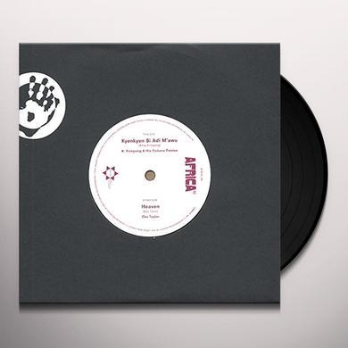Ebo Taylor HEAVEN / KYENKYEN BI ADI M'AWU Vinyl Record