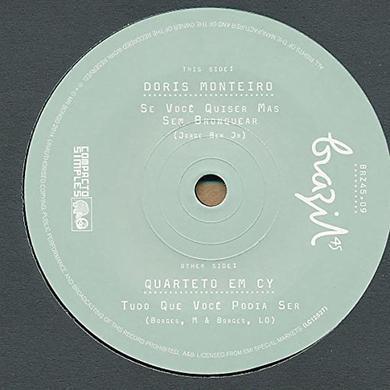 Doris Monteiro SE VOCE QUISER MAS SEM BRONQUE Vinyl Record