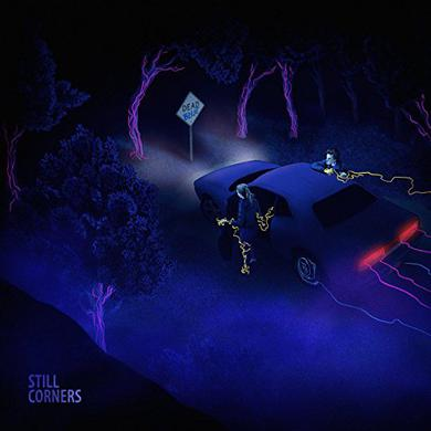 Still Corners DEAD BLUE Vinyl Record