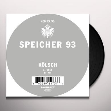 Kolsch SPEICHER 93 Vinyl Record