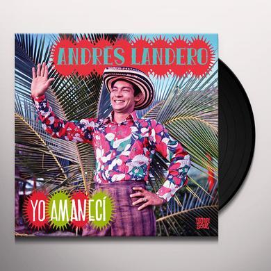 Andres Landero YO AMANECI Vinyl Record