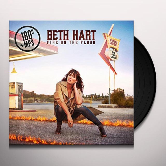 Beth Hart FIRE ON THE FLOOR Vinyl Record - UK Import