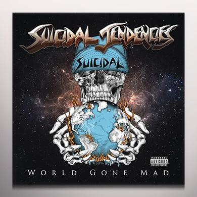 Suicidal Tendencies WORLD GONE MAD (BLUE VINYL)   (GER) Vinyl Record - Blue Vinyl, Colored Vinyl