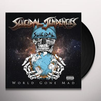 Suicidal Tendencies WORLD GONE MAD (BLACK VINYL) Vinyl Record