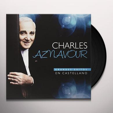 Charles Aznavour GRANDES EXITOS EN CASTELLANO Vinyl Record