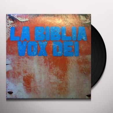 Vox Dei LA BIBLIA Vinyl Record