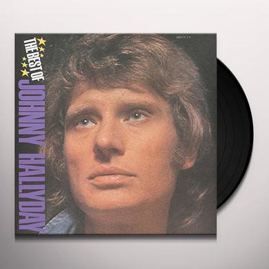 BEST OF JOHNNY HALLYDAY Vinyl Record