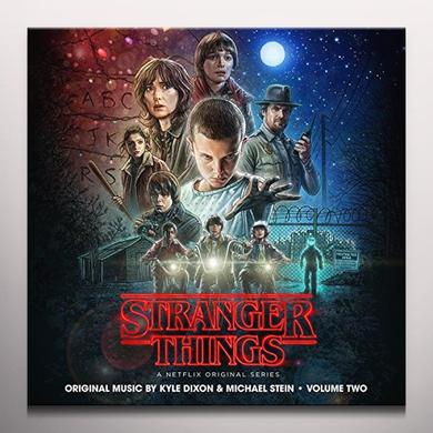 Kyle Dixon / Michael Stein STRANGER THINGS 2 - O.S.T. Vinyl Record - Clear Vinyl