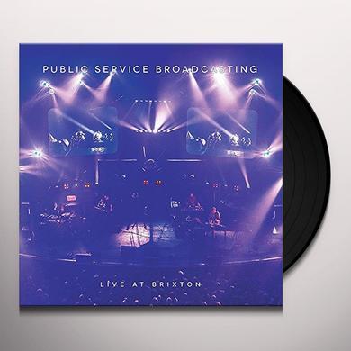 Public Service Broadcasting LIVE AT BRIXTON Vinyl Record