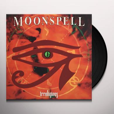 Moonspell IRRELIGIOUS (ORANGE VINYL) Vinyl Record