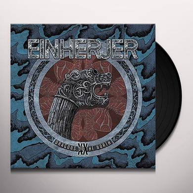 Einherjer DRAGONS OF THE NORTH Vinyl Record - UK Import