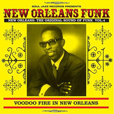 Soul Jazz Records Presents NEW ORLEANS FUNK 4 Vinyl Record