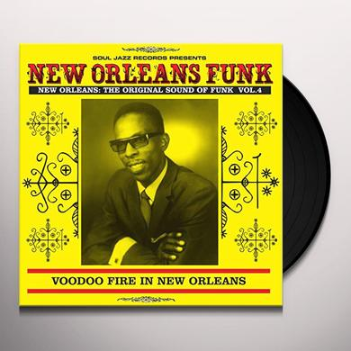 Soul Jazz Records Presents NEW ORLEANS FUNK 4 Vinyl Record - Digital Download Included