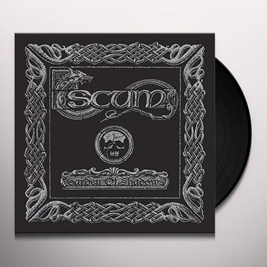 Scum GARDEN OF SHADOWS Vinyl Record