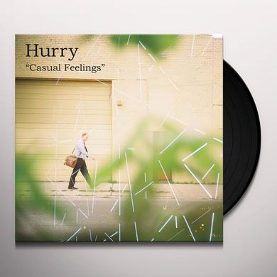 Hurry CASUAL FEELINGS Vinyl Record