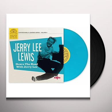 Jerry Lee Lewis DOWN THE ROAD WITH JERRY LEE Vinyl Record