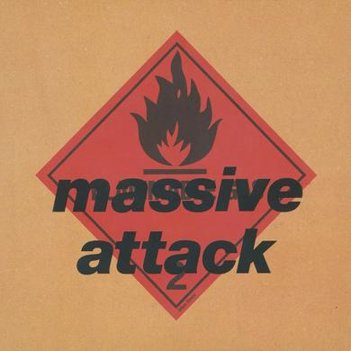 Massive Attack BLUE LINES Vinyl Record