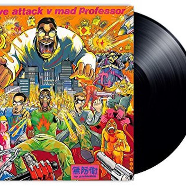 Massive Attack NO PROTECTION Vinyl Record - 180 Gram Pressing