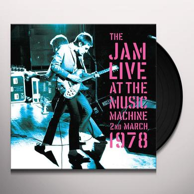 The Jam LIVE AT THE MUSIC MACHINE Vinyl Record