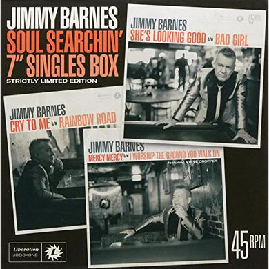 Jimmy Barnes SOUL SEARCHIN: 7IN SINGLES BOX Vinyl Record