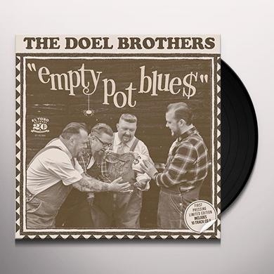 DOEL BROTHERS EMPTY POT BLUE$ Vinyl Record