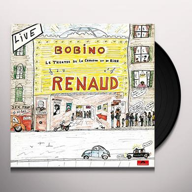 Renaud LIVE BOBINO 80 Vinyl Record - Canada Import