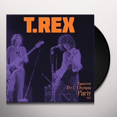 T-Rex TAVERNE DE L'OLYMPIA PARIS 1971 Vinyl Record
