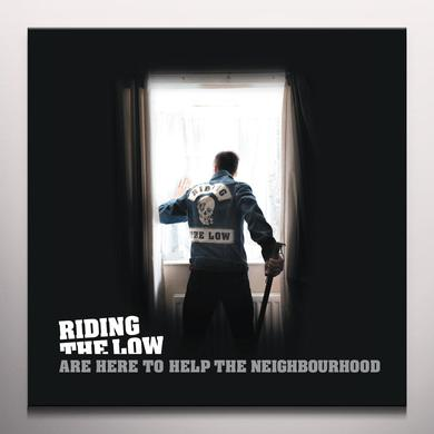 Riding The Low ARE HERE TO HELP THE NEIGHBOURHOOD Vinyl Record - Colored Vinyl, Limited Edition