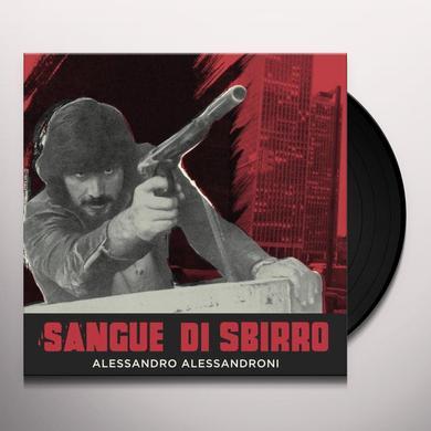 Alessandro Alessandroni SANGUE DI SBIRRO / O.S.T. Vinyl Record