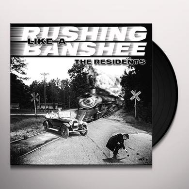 Residents RUSHING LIKE A BANSHEE / TRAIN VS. ELEPHANT Vinyl Record