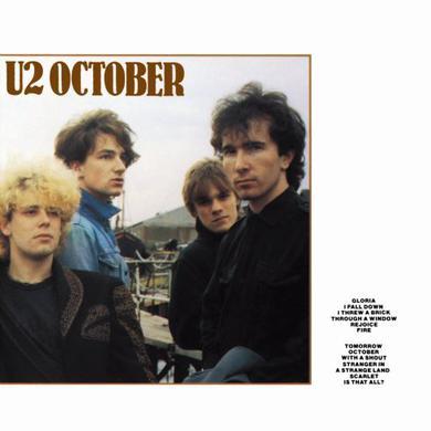 U2 OCTOBER Vinyl Record