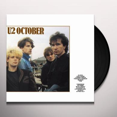 U2 OCTOBER Vinyl Record - Holland Import