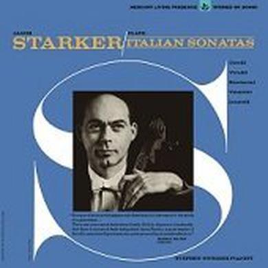 JANOS STARKER PLAYS ITALIAN SONATAS Vinyl Record