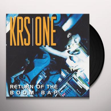 Krs-One RETURN OF THE BOOM BAP (WSV) Vinyl Record