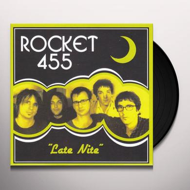 ROCKET 455 LATE NITE / BONE BROKE Vinyl Record